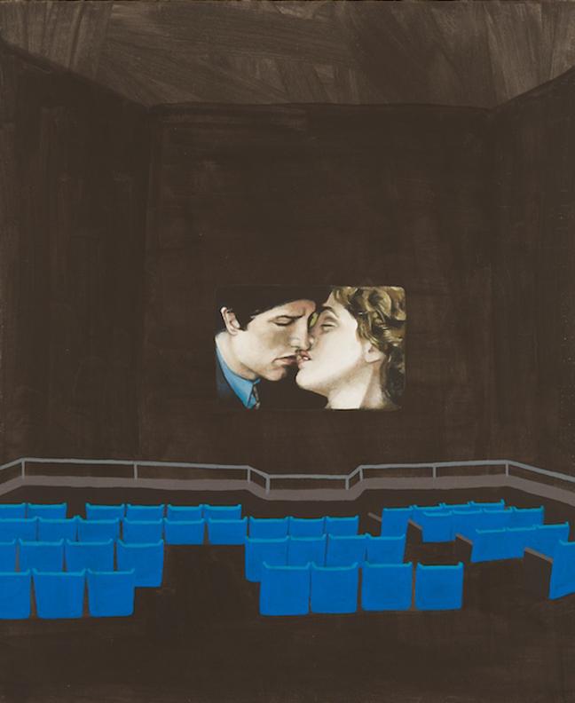 """Fleur Forsyte Loves Jon Forsyte   Oil on Canvas   17"""" x 14"""""""