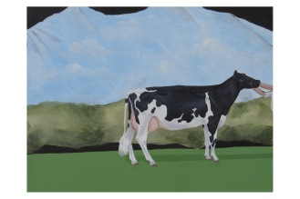 """Pictorial Birthday Wish List Item 2-Cow 